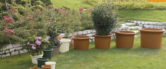 Plastic Pot Planter (Set of 6) by Marchioro