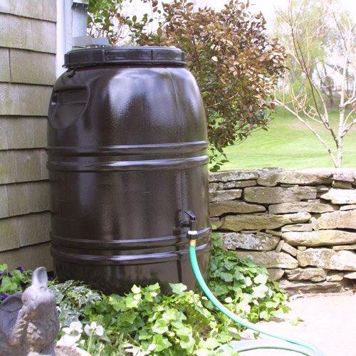 60 Gallon Rain Barrel by Great American Rain Barrel