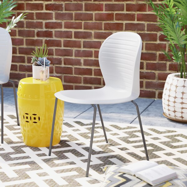 MacArthur Stacking Patio Dining Chair by Ebern Designs Ebern Designs