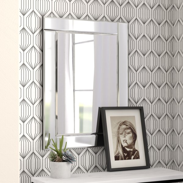 Rectangle Accent Wall Mirror by Wade Logan