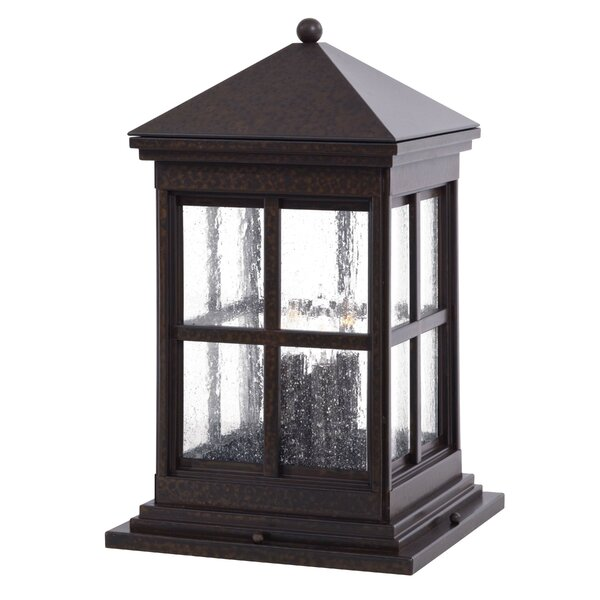 Berkeley Outdoor 1-Light Pier Mount Light by Great Outdoors by Minka