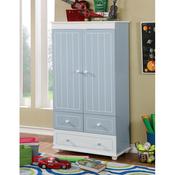Kathie Wooden Armoire by Harriet Bee
