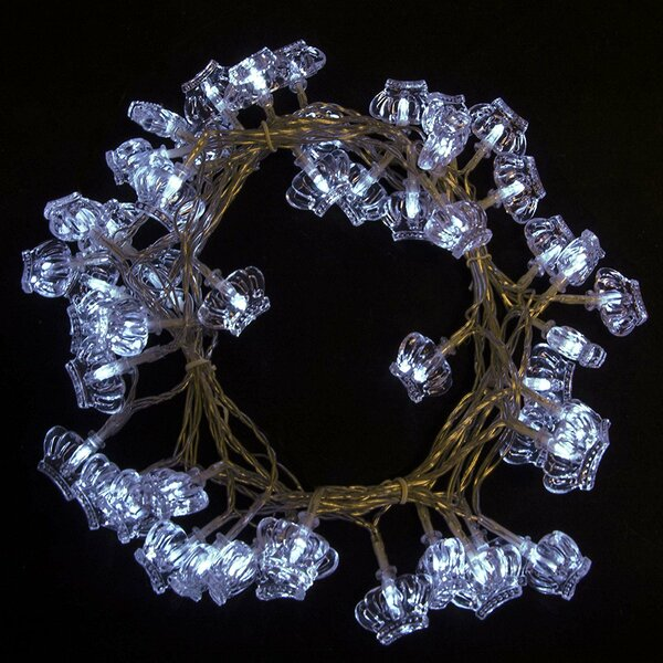 Crown Christmas 50 Light String Lights by The Holiday Aisle