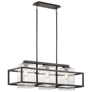 Price comparison Hafley 3-Light Outdoor Chandelier By Brayden Studio