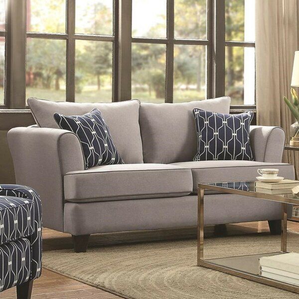 Will Contemporary Loveseat by Alcott Hill