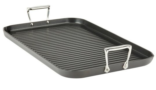 HA1 13 Hard Anodized Non-Stick Grill Pan by All-Clad