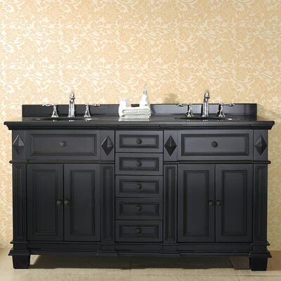 "ove decors essex 60"" double bathroom vanity set & reviews 