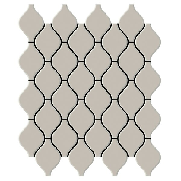 Shape 2 x 2 Porcelain Mosaic Tile in Fawn by Emser Tile