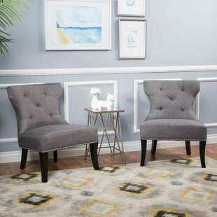Fresh Moraga Slipper Chair (Set of 2) Mercer41