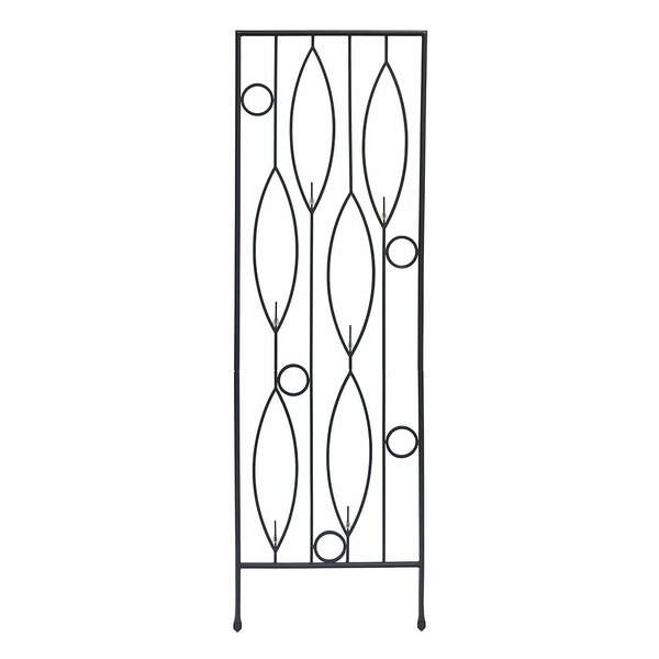 Vinifera Bottle Iron Gothic Trellis by ACHLA