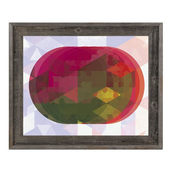 Infrared Lenses Framed Graphic Art on Canvas by Click Wall Art