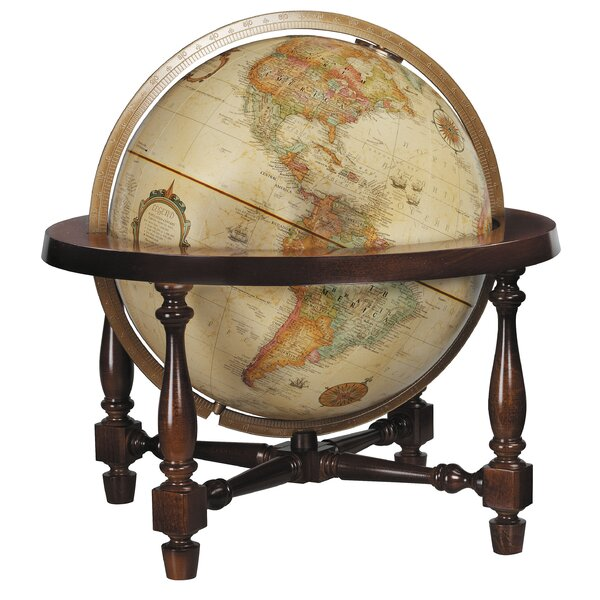 Colonial Antique World Globe by Replogle Globes