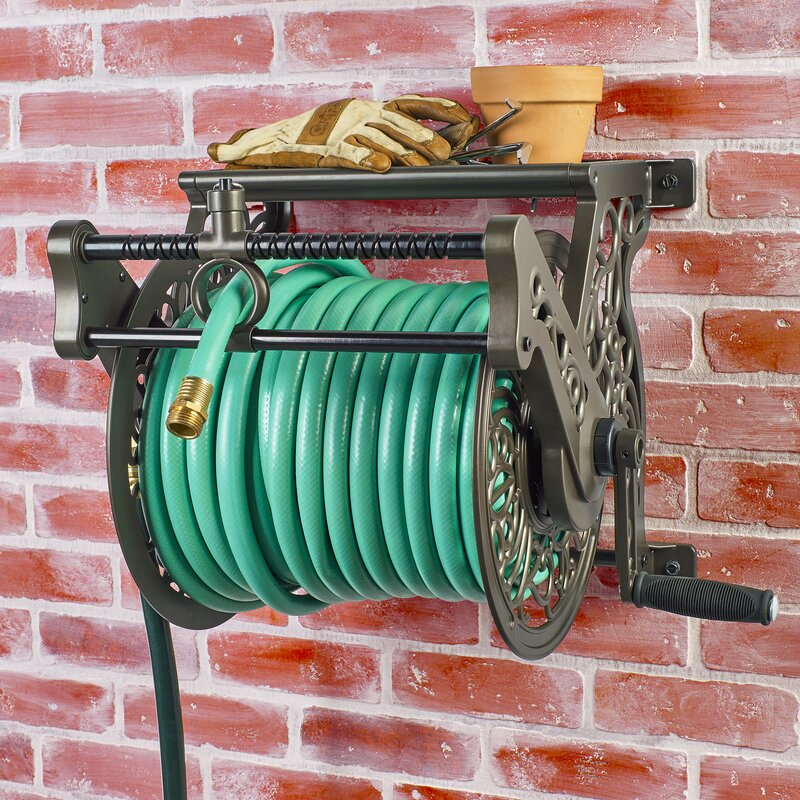 Aluminum Wall Mounted Hose Reel