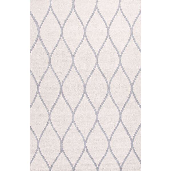 Tinkham Hand Tufted Ivory/Gray Area Rug by Latitude Run