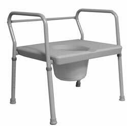 Round Commode by Roscoe Medical