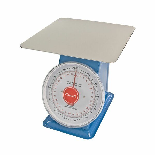 Mercado Dial Mechanical Kitchen Scale with Flat Plate by Escali