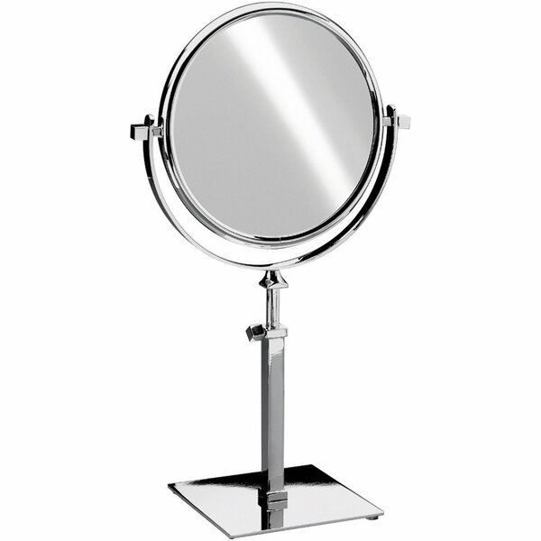 Everman Square Double-Sided Makeup/Shaving Mirror by Red Barrel Studio