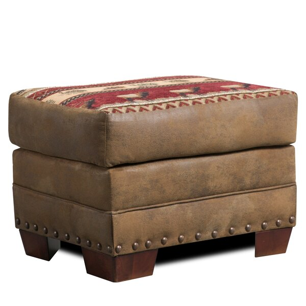 Charlie Sierra Ottoman by Millwood Pines