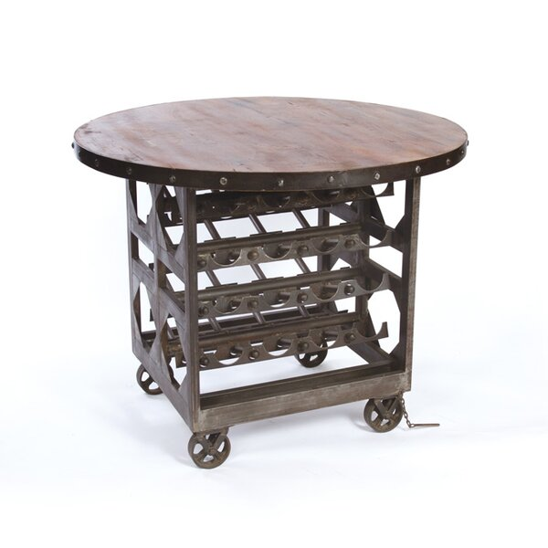 Barclee Bar Cart by 17 Stories