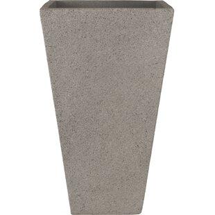 Origins Terrazzo Tall Square Composite Pot Planter. By Pride Garden Products
