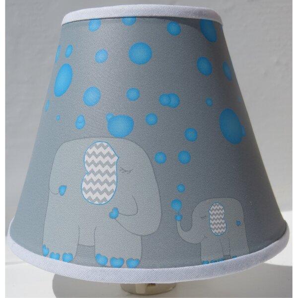 Bubbles and Elephant Night Light by Presto Chango Decor