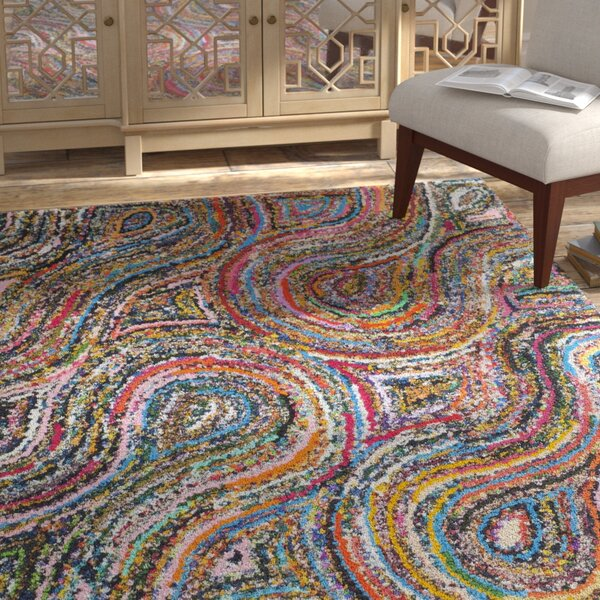 Anaheim Abstract Area Rug by Bungalow Rose