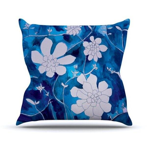 Succulent Dance by Theresa Giolzetti Outdoor Throw Pillow by East Urban Home