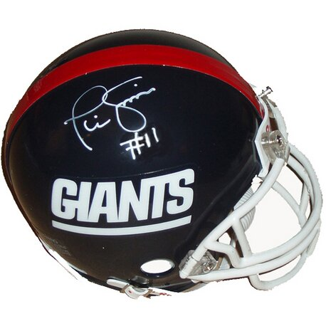 Decorative Phil Simms Giants Throwback Replica Mini Helmet by Steiner Sports