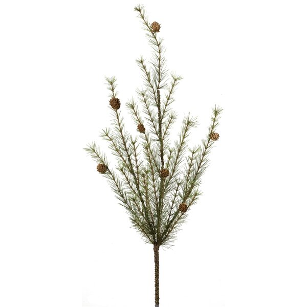 Pine with Cones Foliage Plant (Set of 2) by Millwood Pines