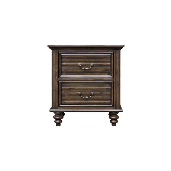 Desirae 2 Drawer Nightstand by Darby Home Co