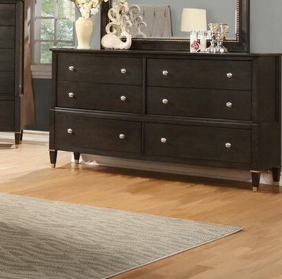Dejuan 6 Drawer Double Dresser by Darby Home Co