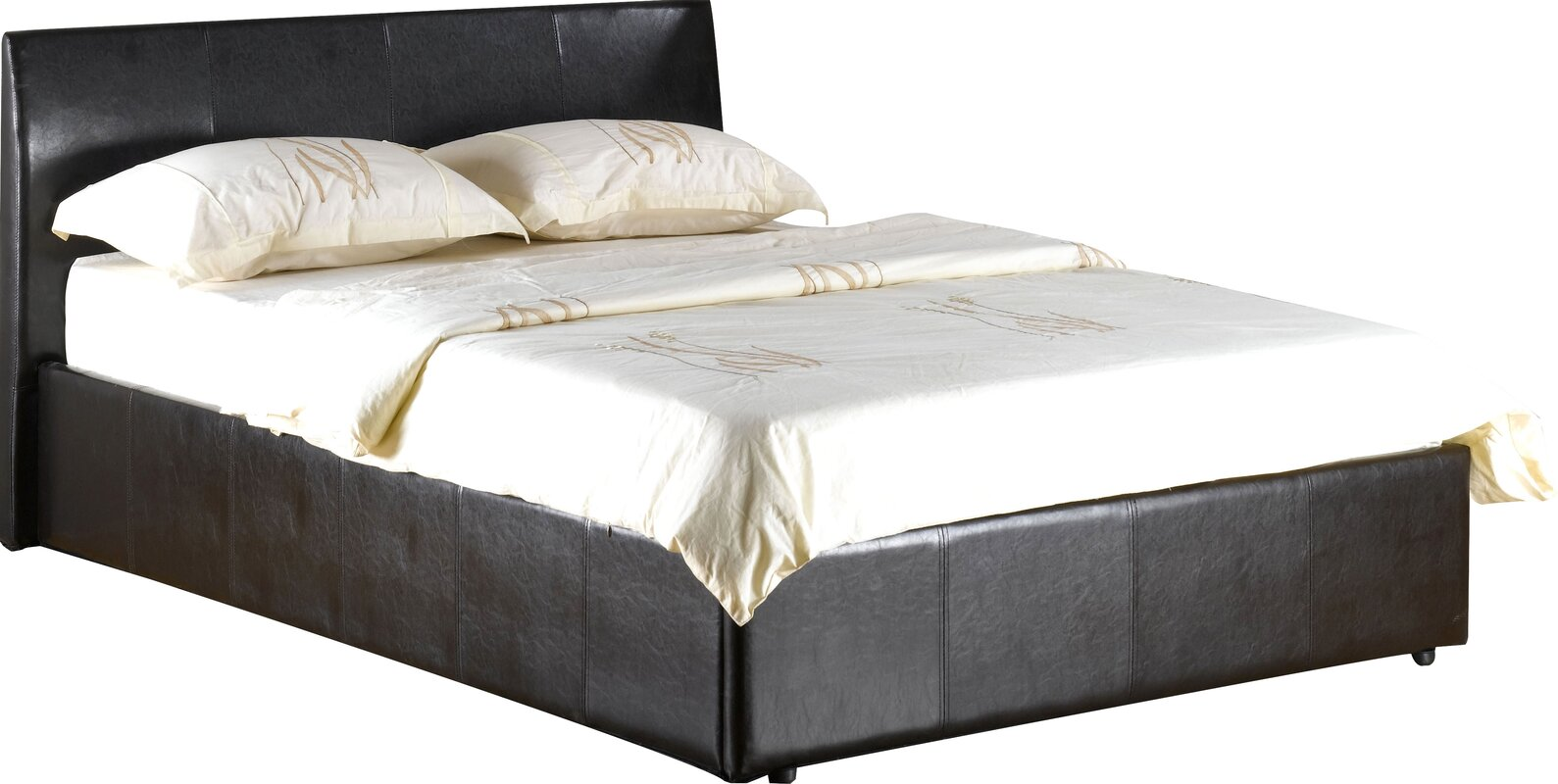 Three Posts Quentin Upholstered Ottoman Bed Amp Reviews