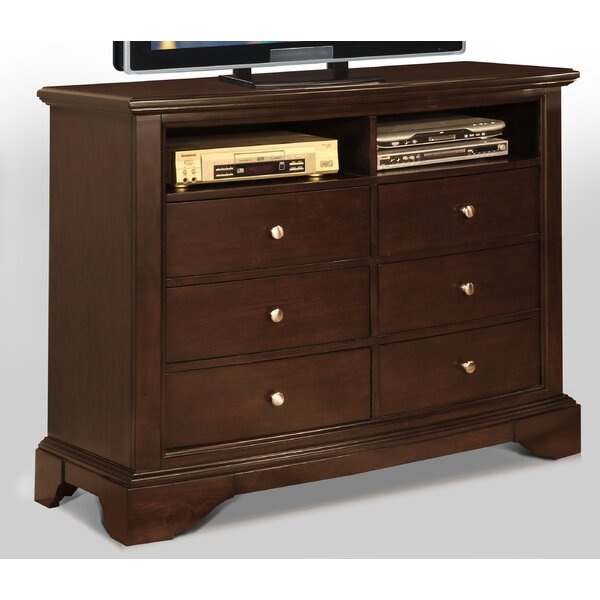 Zelma 6 Drawer Media Chest By Canora Grey