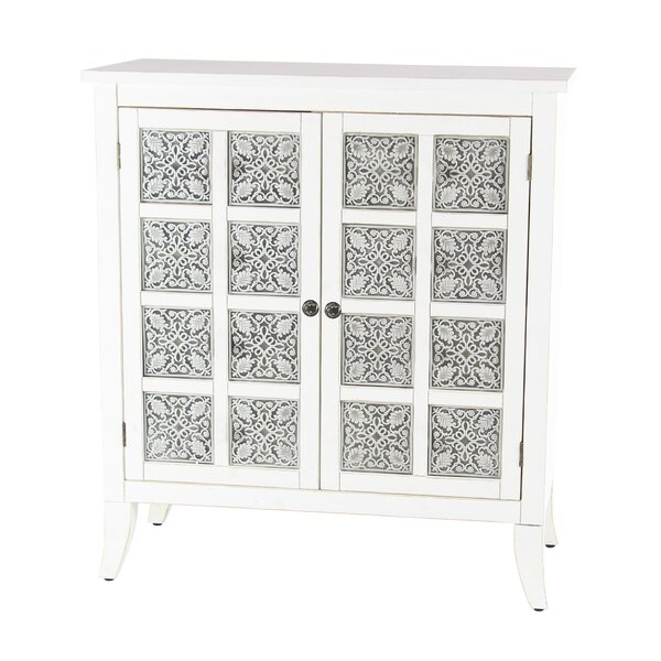 Pawnee Modern Wood 2 Door Accent Cabinet by Alcott Hill Alcott Hill