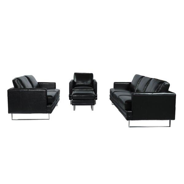 Hitchcock Leather Sofa by Orren Ellis