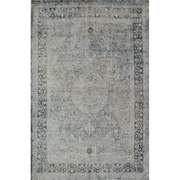 Cambridge Tan/Blue Area Rug by Rugs America