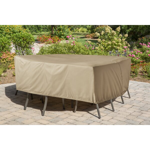 Vinyl Patio Dining Set Covers for Round or Square by Freeport Park
