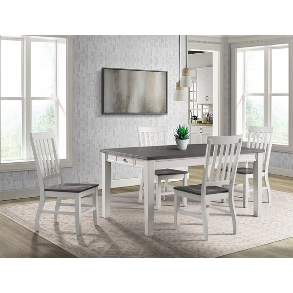 Jamison 5 Piece Extendable Dining Set by August Grove