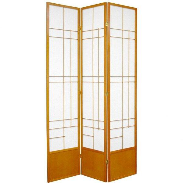 Clara Shoji 3 Panel Room Divider by World Menagerie