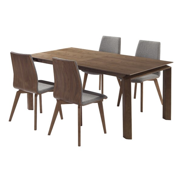 Best Choices Bridgwater 5 Piece Dining Set (Set Of 5) By Corrigan Studio Discount
