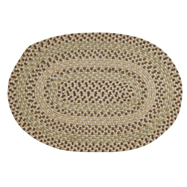 Monnie Braided Natural Area Rug by August Grove