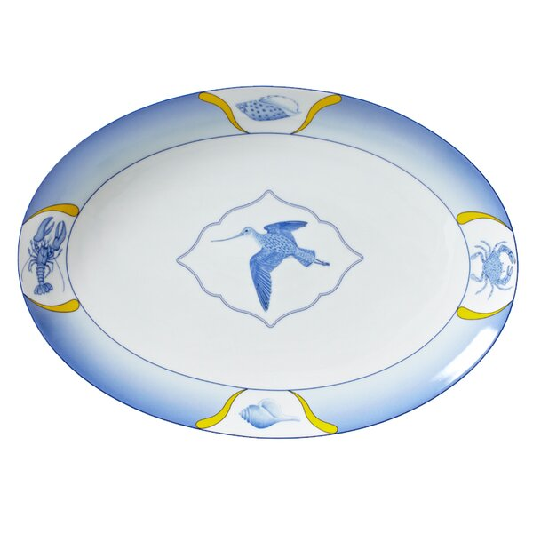 Beachcomber Oval Platter by Lynn Chase Designs