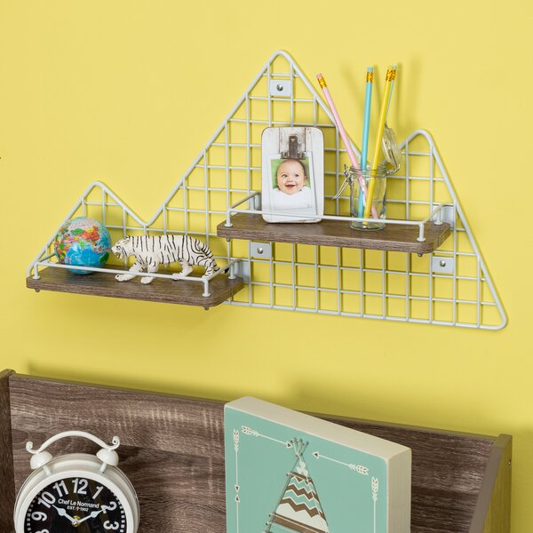 Kids Wall Shelf by Honey Can Do