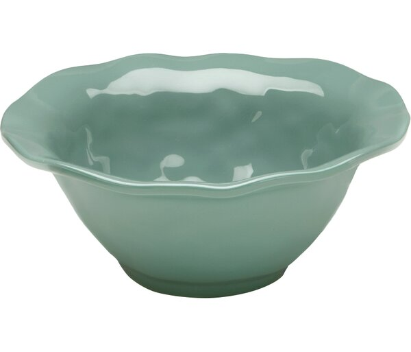 Ruffle Hues Melamine Cereal Bowl (Set of 4) by Q Squared