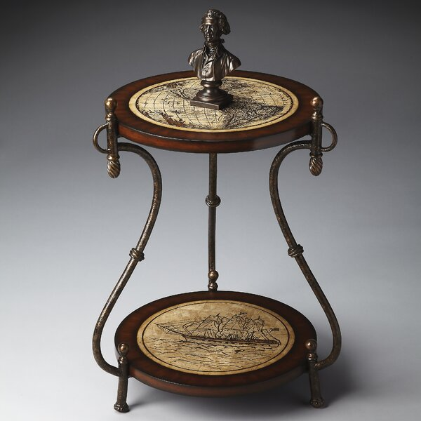 Kail Distressed Accent Table by Alcott Hill