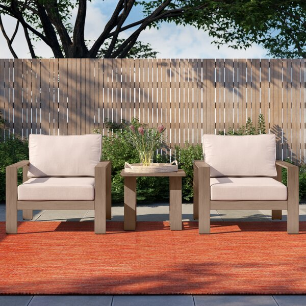 Daly 3 Piece with Cushions by Foundstone