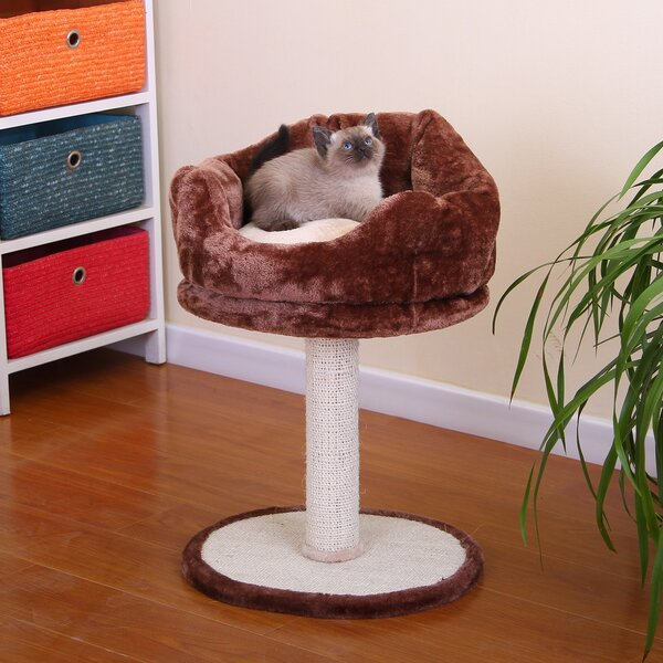 24 Soft Fleece Cat Perch by PetPals