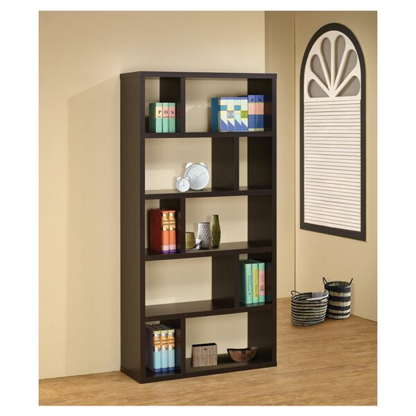 Felicia Geometric Bookcase by Wildon Home®