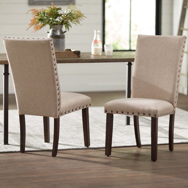 Ismay Upholstered Dining Chair (Set of 2) by Three Posts