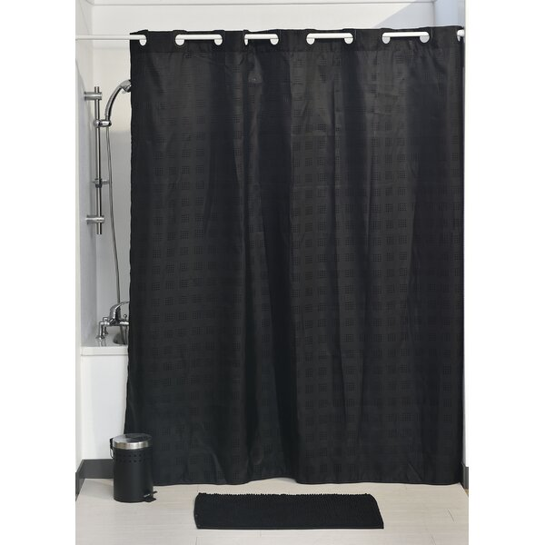 Hookless Shower Curtain by Evideco